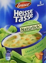 Heisse Tasse Lauch-Creme mit Croûtons Faltschachtel á 3 Beutel á 0,15 l, 12er Pack (12 x 450 ml) - 1