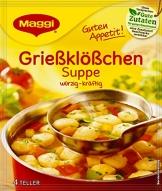 Maggi Guten Appetit Suppe Grießklößchen, 22er Pack (22 x 50 g) - 1