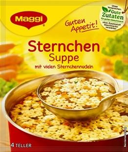 Maggi Guten Appetit Suppe Sternchen, 20er Pack (20 x 100 g) - 1