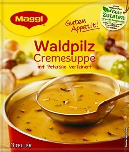 Maggi Guten Appetit Suppe Waldpilz Cremesuppe, 27er Pack (27 x 52 g) - 1