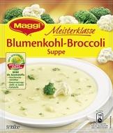 Maggi Meisterklasse Suppe Blumenkohl Broccoli 10 x 50 g, 10er Pack (10 x 50 g) - 1