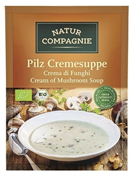Natur Compagnie Bio Pilzcremesuppe (12 x 40 gr) - 1