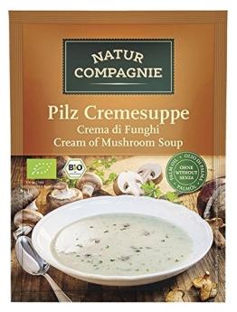 Natur Compagnie Bio Pilzcremesuppe (12 x 40 gr) - 1