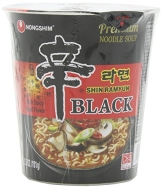 Nong Shim Instant-Cup-Nudeln Shin Ramyun, Black, 6er Pack (6 x 100 g) - 1