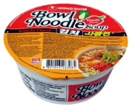 Nong Shim Instant-Cup-Nudelsuppe Kim Chi Sabalmyun, 12er Pack (12 x 86g) - 1