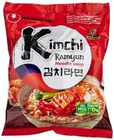 NONG SHIM Instantnudeln, Kim Chi Ramen, 20er Pack (20 x 120 g Packung) - 1
