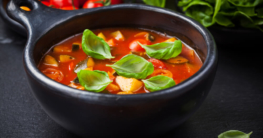 Minestrone-Suppe